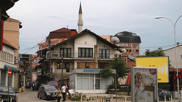 Kosovo street scene