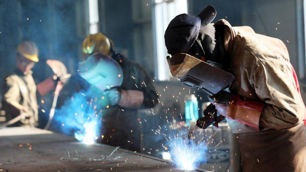 Fábrica de acero en China