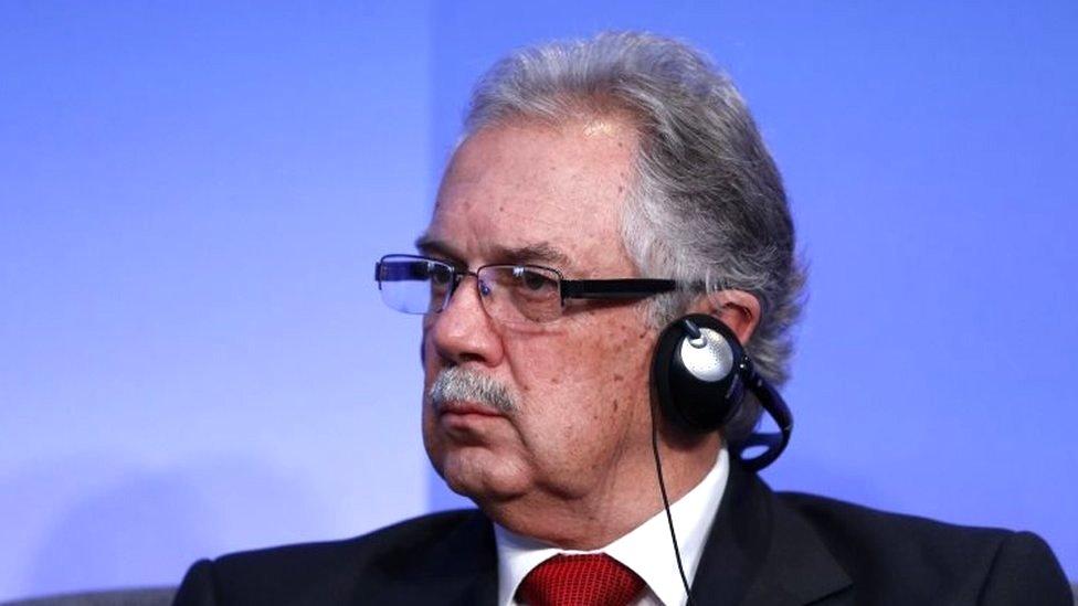 Uruguay's defence minister, Jorge Menéndez, in September 2016