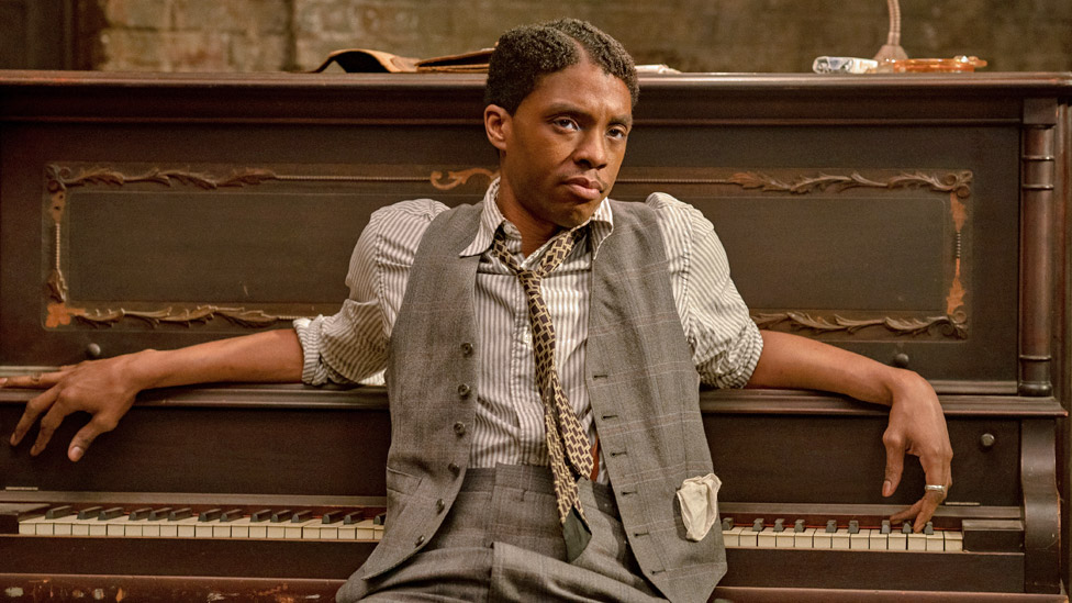 Chadwick Boseman en Ma Rainey's Black Bottom