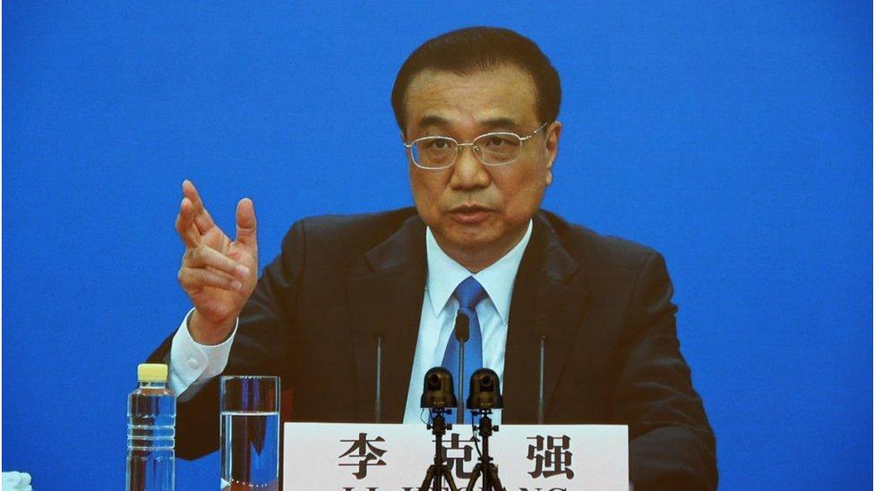 中國全國人大每年的壓軸節目總理記者會在北京舉行