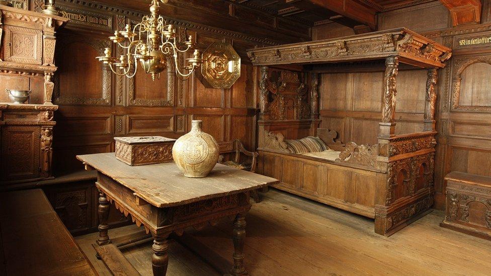 Enterijer stare danske kuće