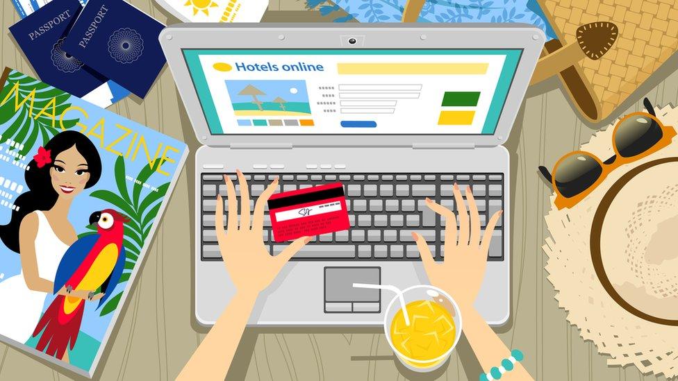 reservar vacaciones por internet