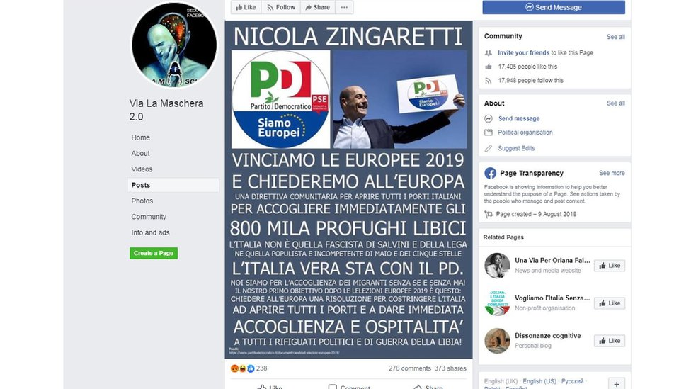 Populističke grupe u Italiji šire dezinformacije pred evropske izbore