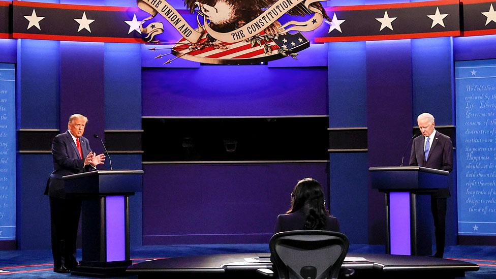 Presidential debate: Key takeaways from the Trump-Biden showdown - BBC News