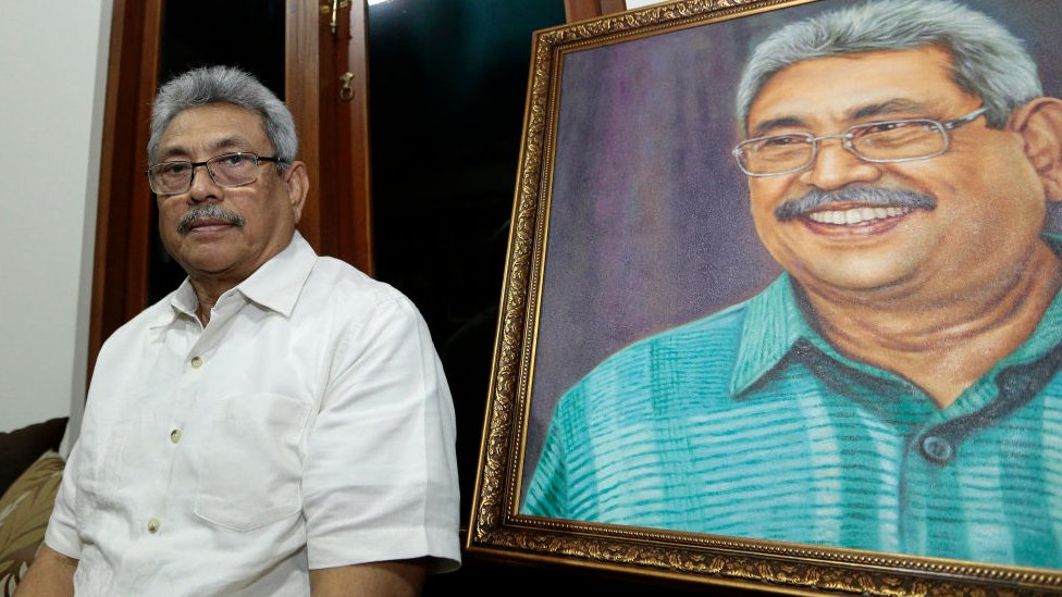 Gotabhaya Rajapaksa was in power when the long-running civil war came to an end