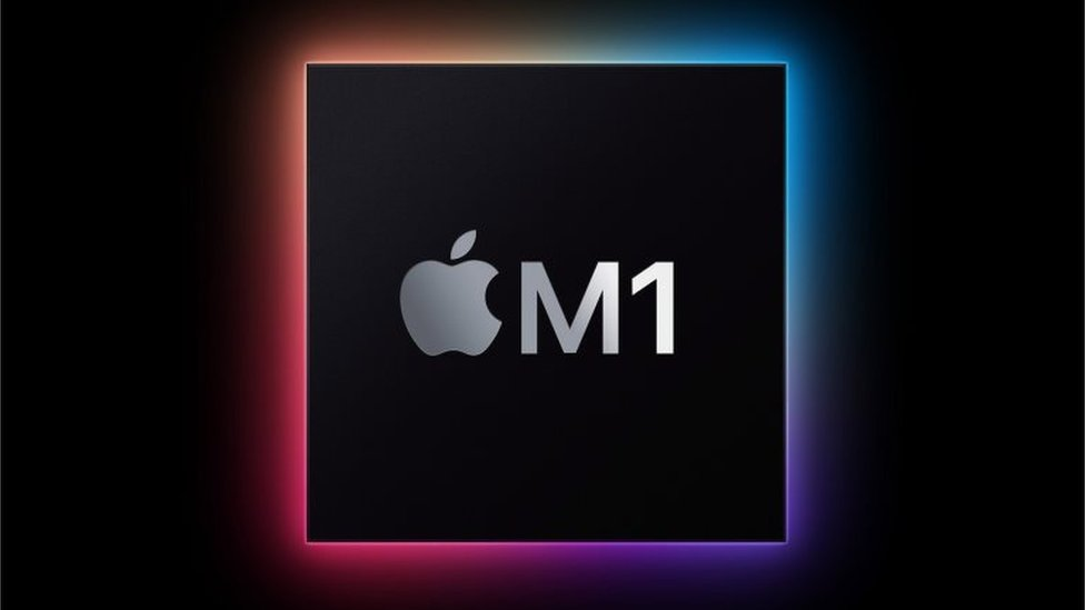 Logo de Apple M1.