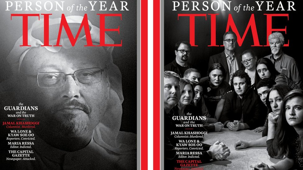 Journalists are Time's 'Person of the Year'