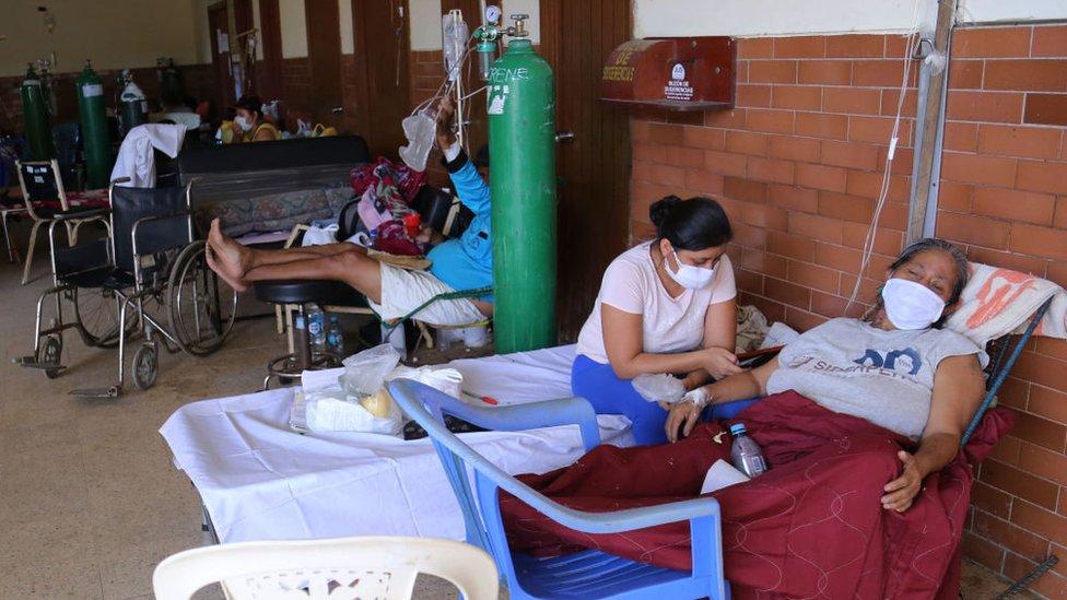Hospital en Iquitos, Perú.