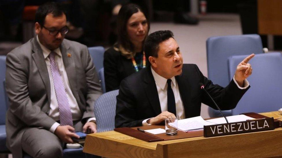 Samuel Moncada en la ONU