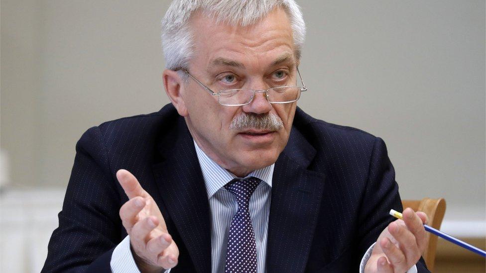 Путин принял отставку белгородского губернатора Савченко. Он станет сенатором