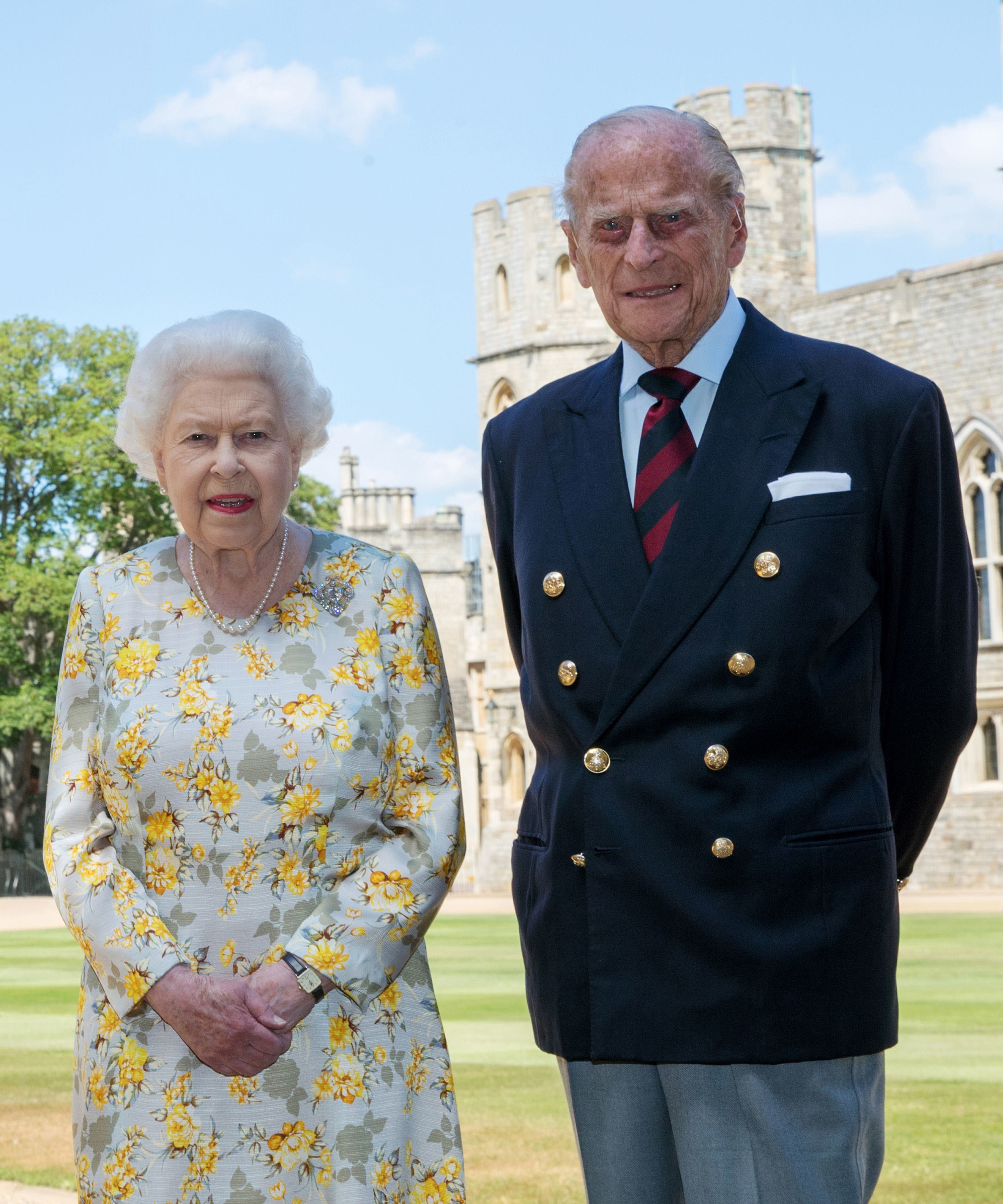 Kraljica Elizabeta II i vojvoda od Edinburga