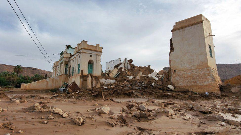 تشتهر تريم، الواقعة في وادي حضرموت، بمبانيها الشاهقة المبنية من الطوب