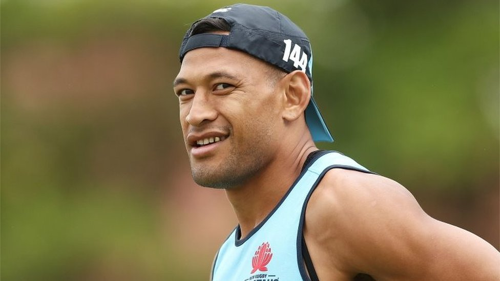 Israel Folau: Rugby star's fundraiser shut down over anti-gay views