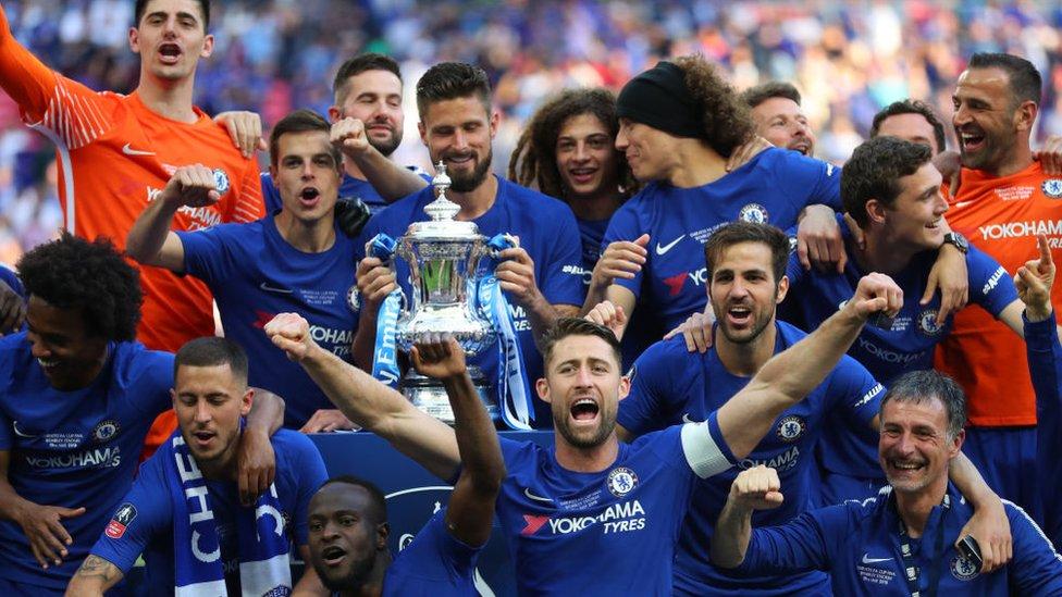 Equipo de fútbol británico Chelsea