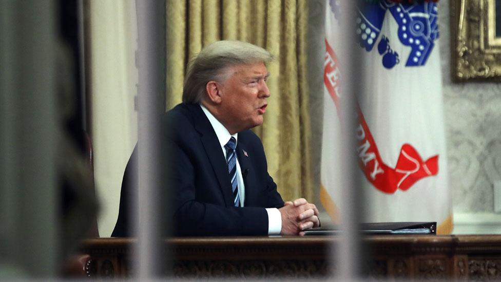 特朗普在橢圓形辦公室