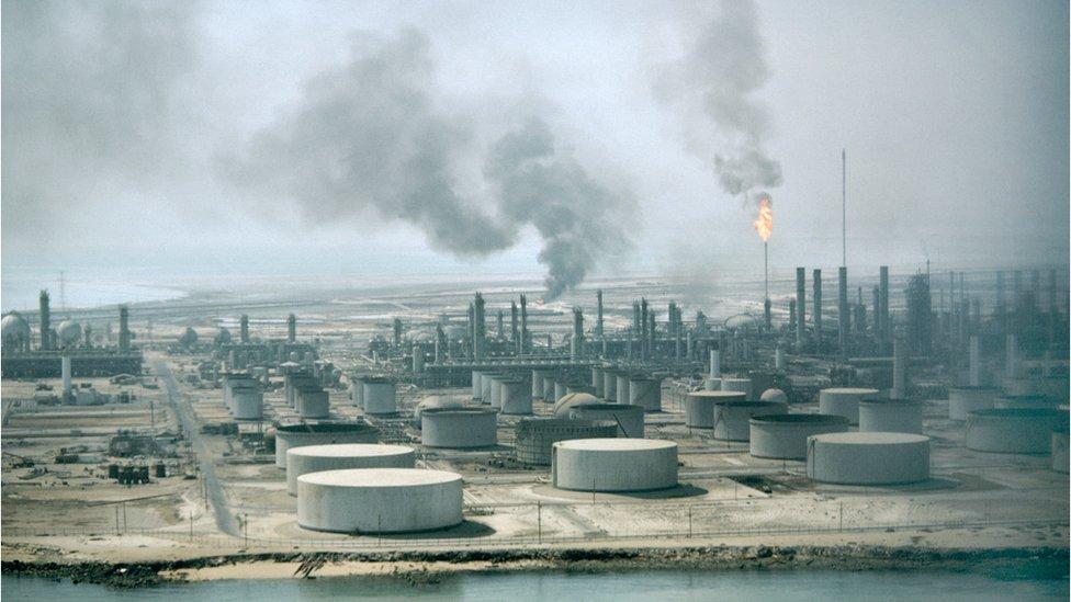 沙特阿美煉油廠