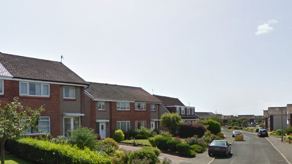 Armed men attack elderly woman and son in Troon home