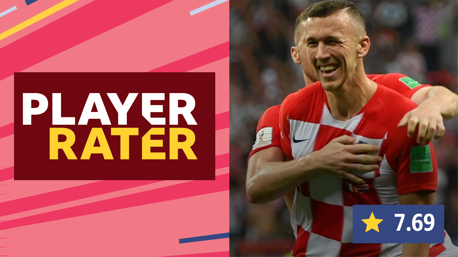 World Cup final: Ivan Perisic rated best player