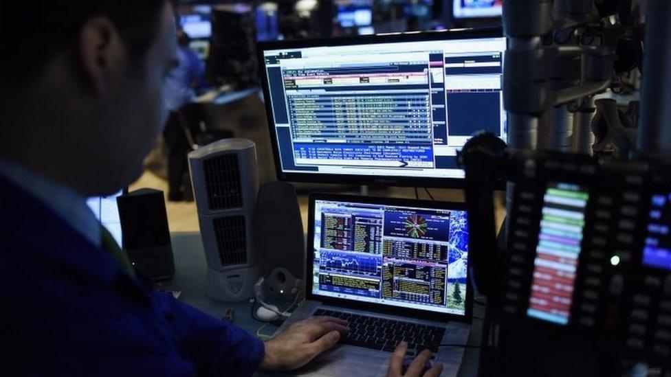 Bloomberg computer