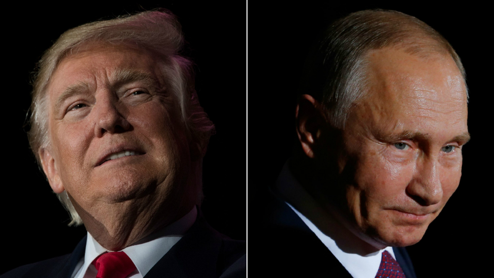 Russia-Trump inquiry: Russians charged over US 2016 election tampering