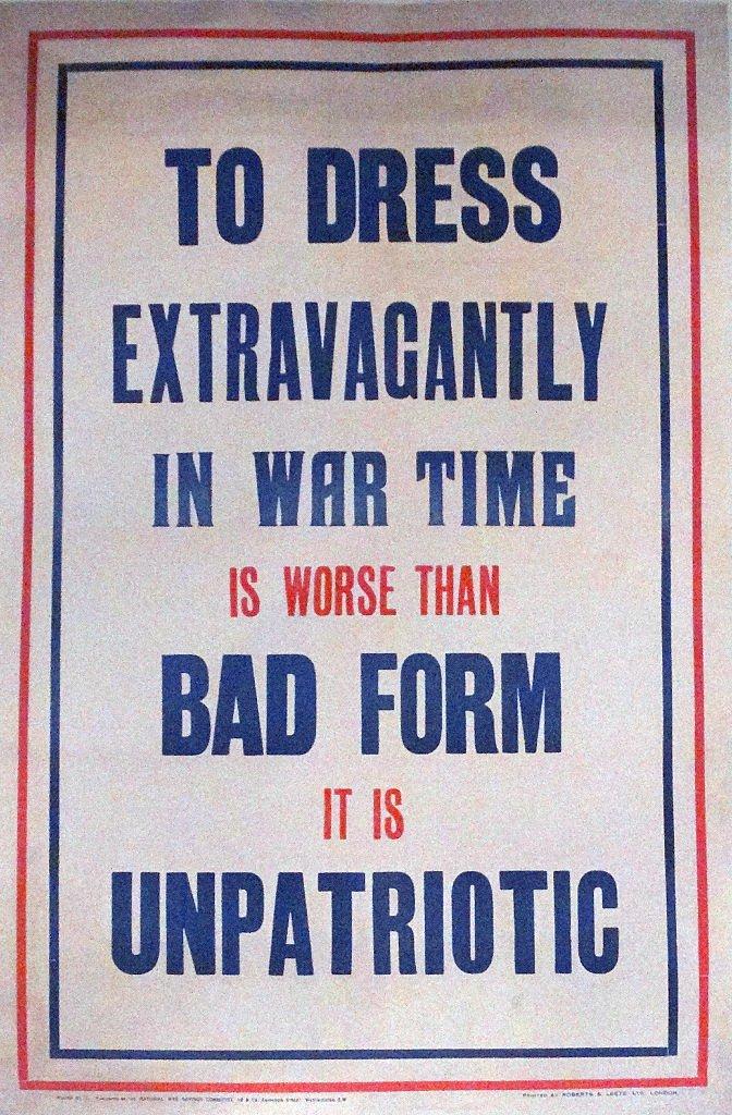 Un cartel de guerra