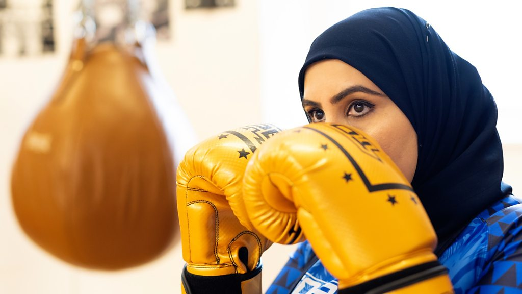 Meet the 'badass' hijab boxing coach helping women