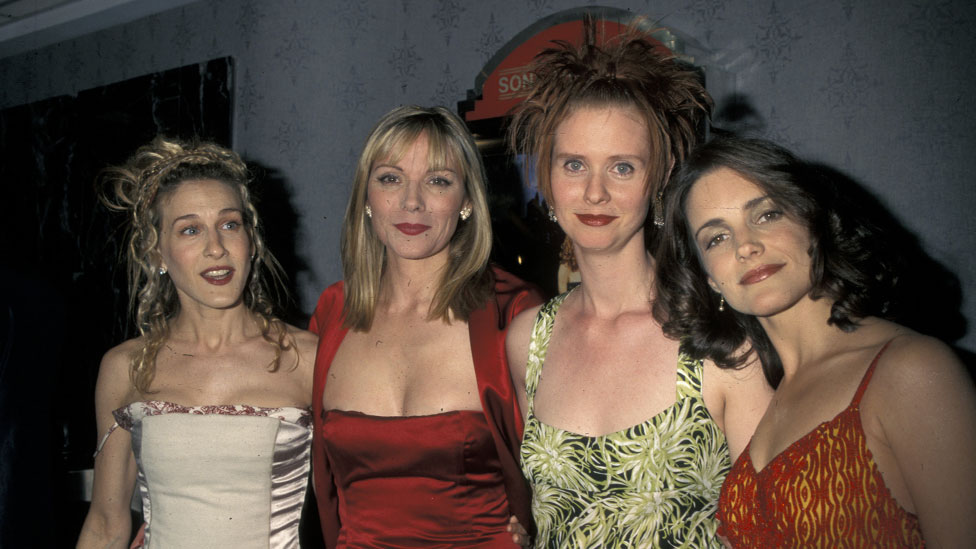 The launch party for Sex and the City in 1998