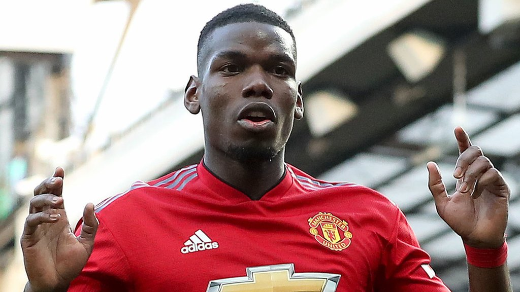 Pogba only player not from Man City or Liverpool in PFA Team of the Year