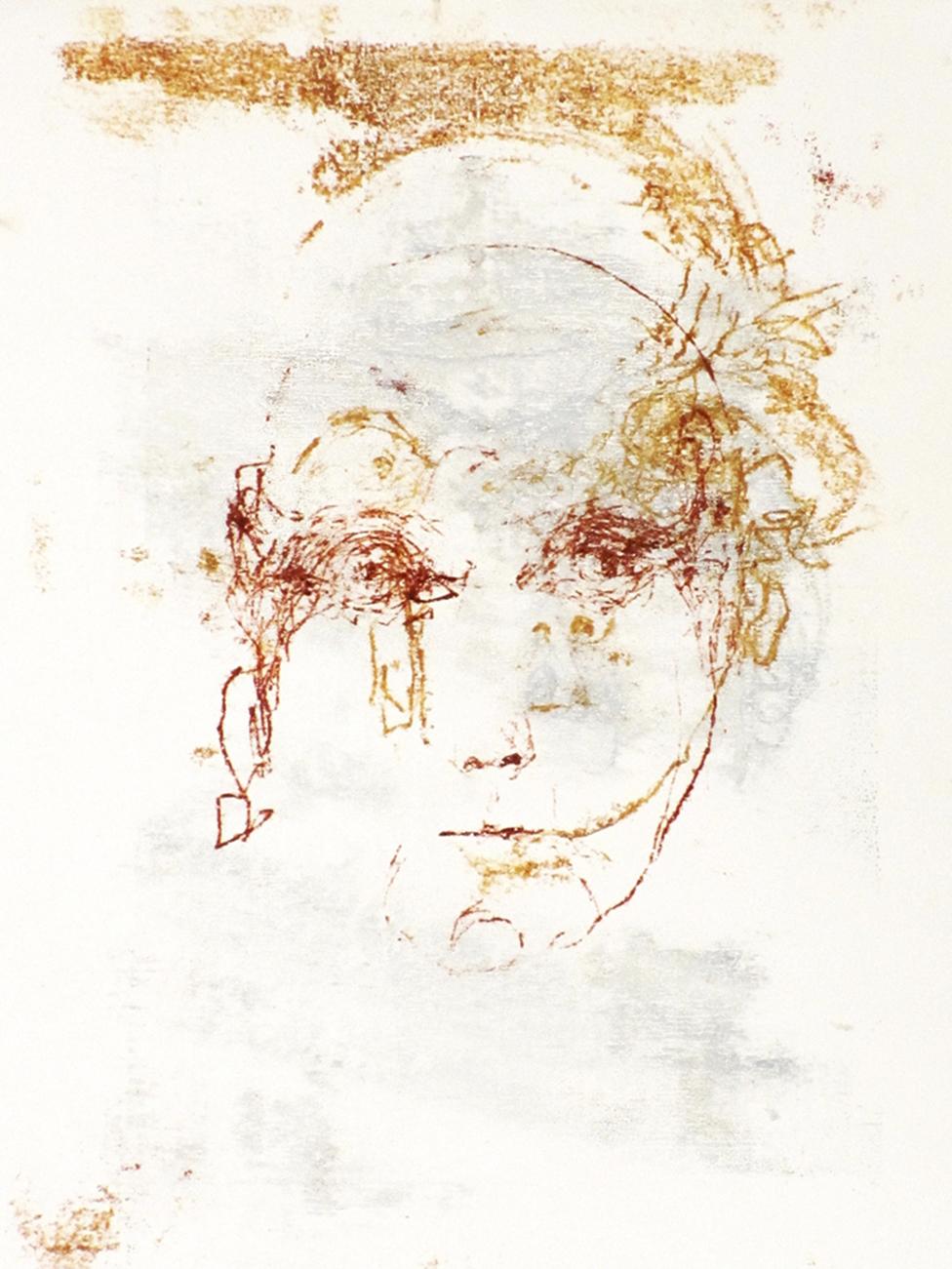 Un autorretrato de Carlotta.