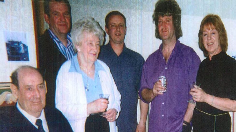 Eileen Blane and family