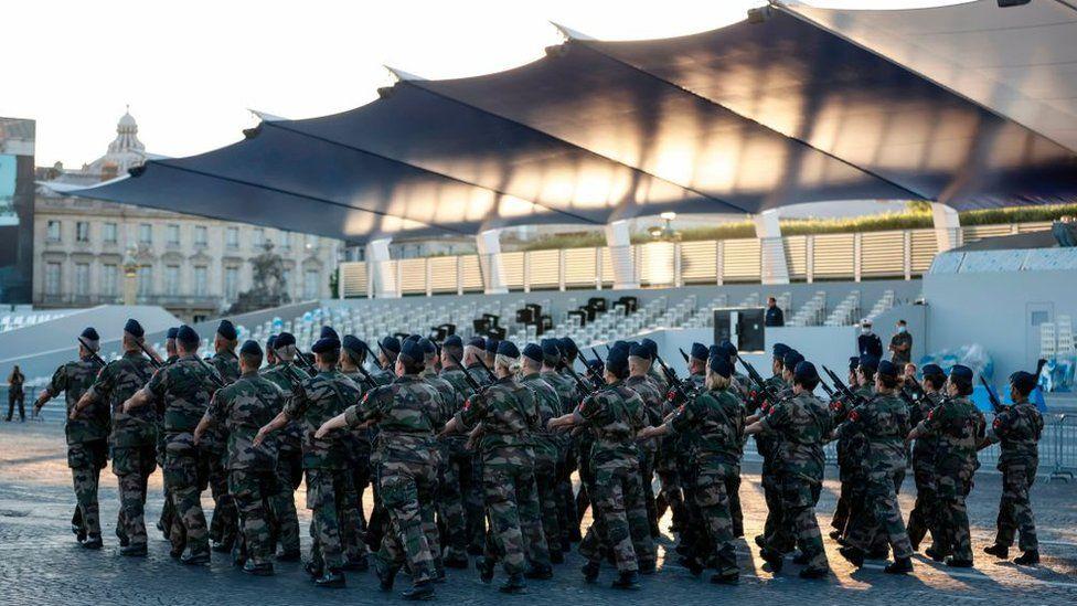 عسكريون فرنسيون