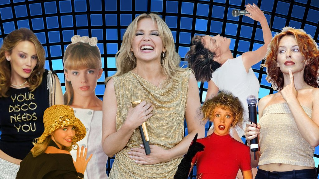 Kylie Minogue breaks UK chart records with her new album, Disco thumbnail
