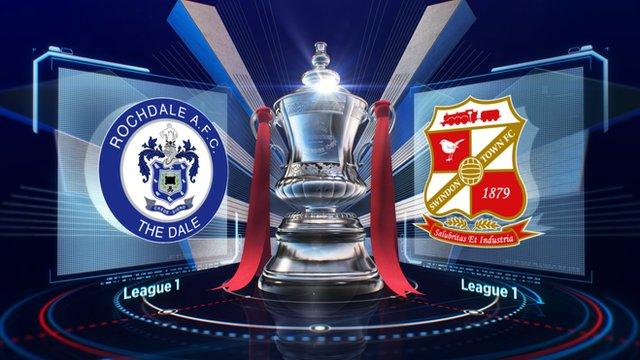 Highlights: Rochdale 3-1 Swindon