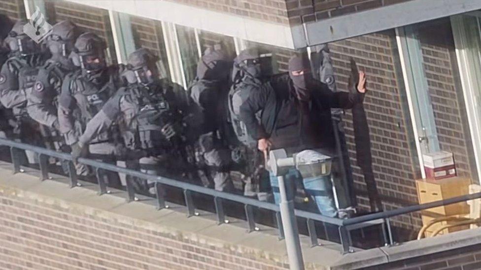 Police raid on jihadist suspects in Netherlands