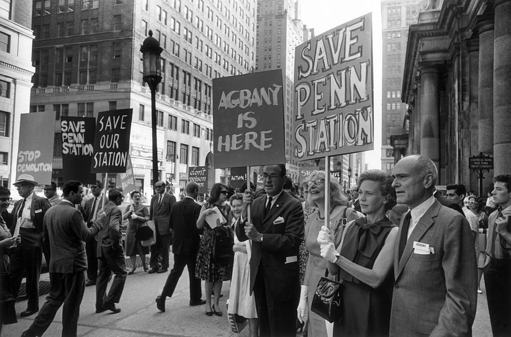 Just a few activists and architects tried to stop the bulldozing of the station in 1963