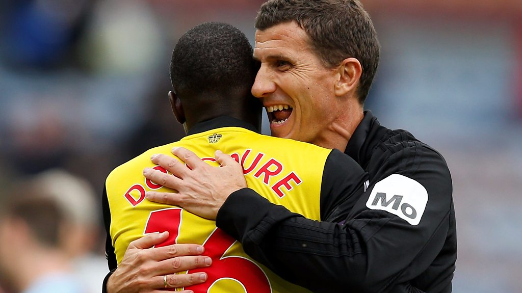 Burnley 1-3 Watford: Javi Gracia eager to 'enjoy moment' after rare away win