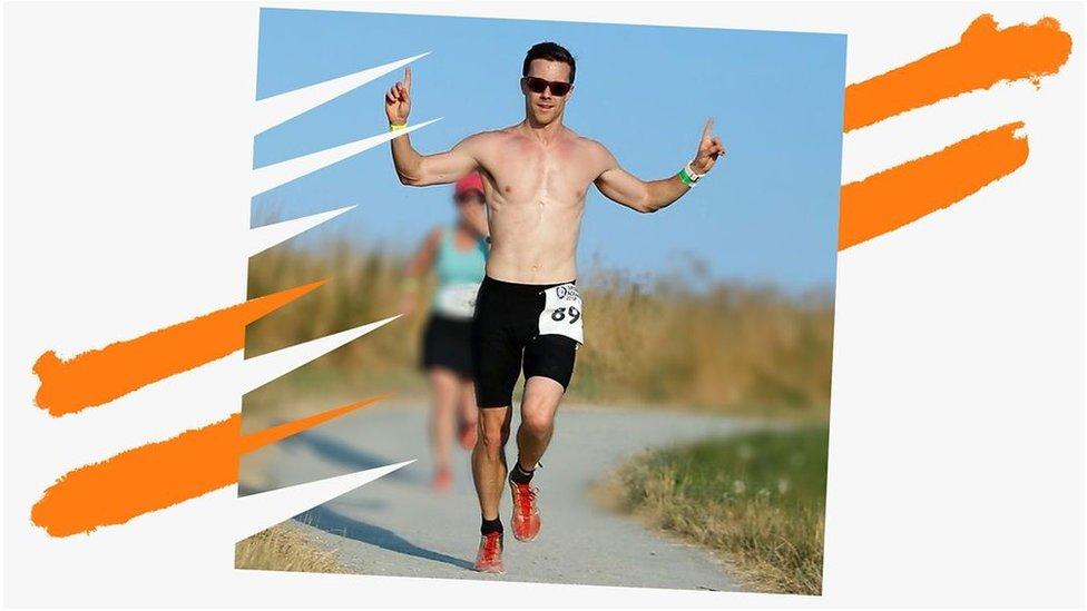 Jeff running