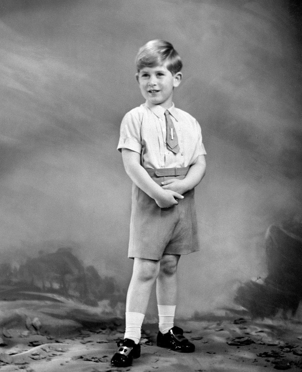 Petogodišnji princ Čarls