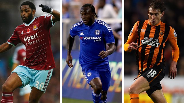 West Ham United transfer deadline day signings Alex Song, Victor Moses and Nikica Jelavic
