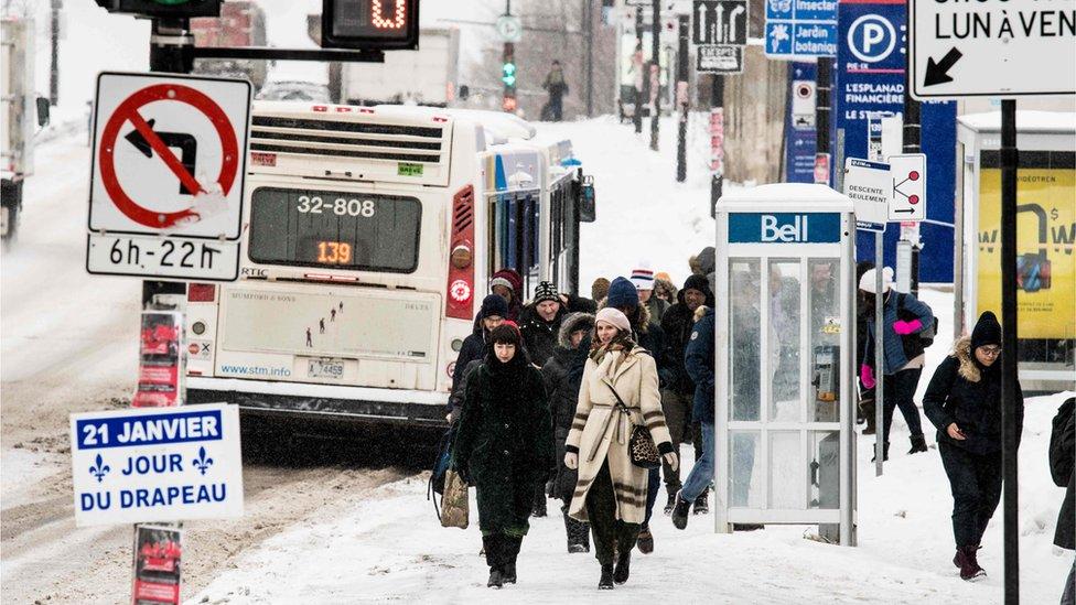 Sneg u Montrealu