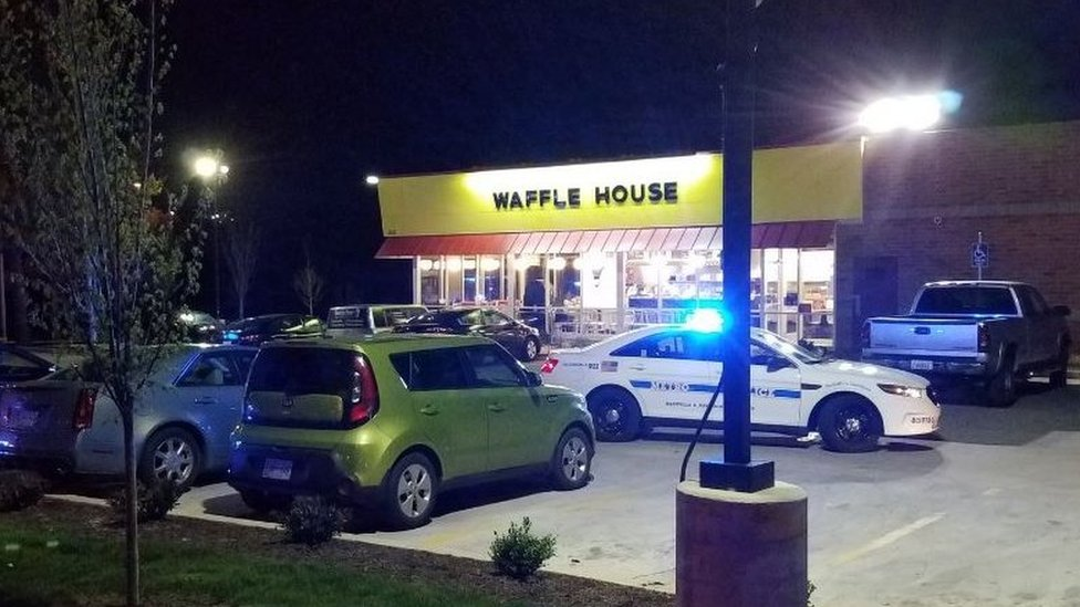 Waffle House where shooting occurred