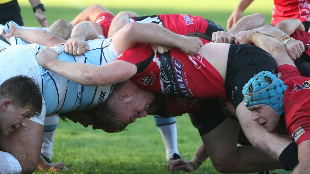 Cornish Pirates: Early mistakes prove costly in Bedford loss