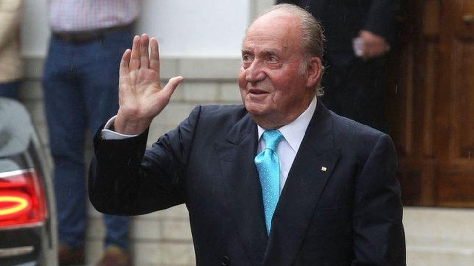 Juan Carlos 2014 yılında tahttan feragat etmişti