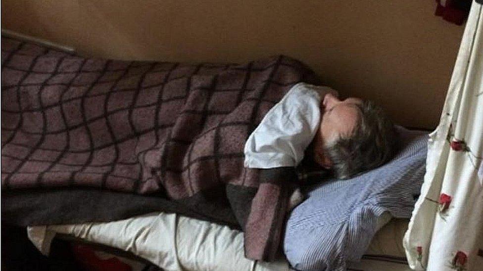 Robert Urwin in Ukrainian jail