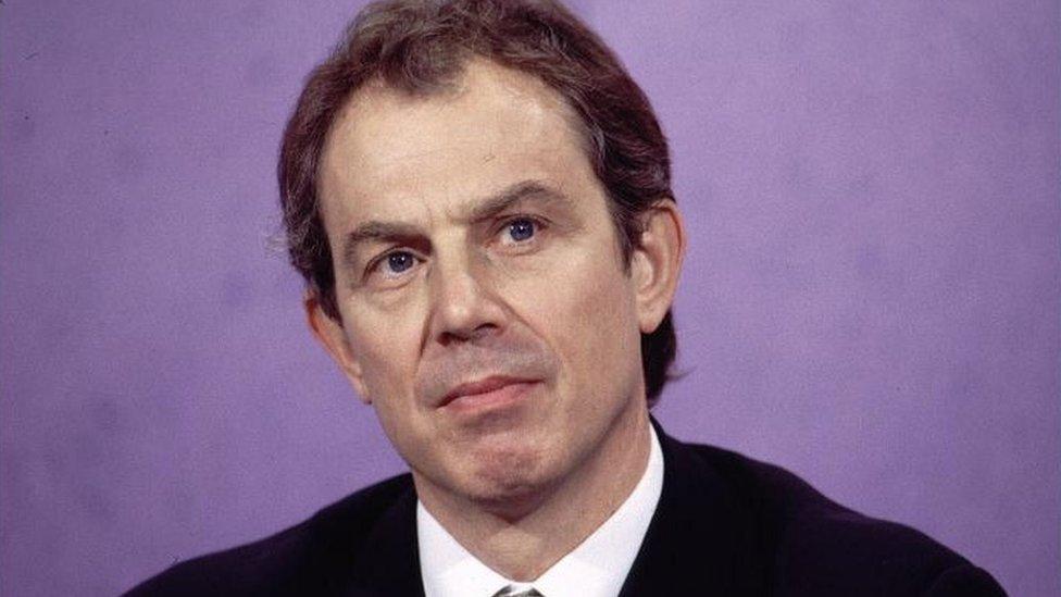 Bivši britanski premijer Toni Bler