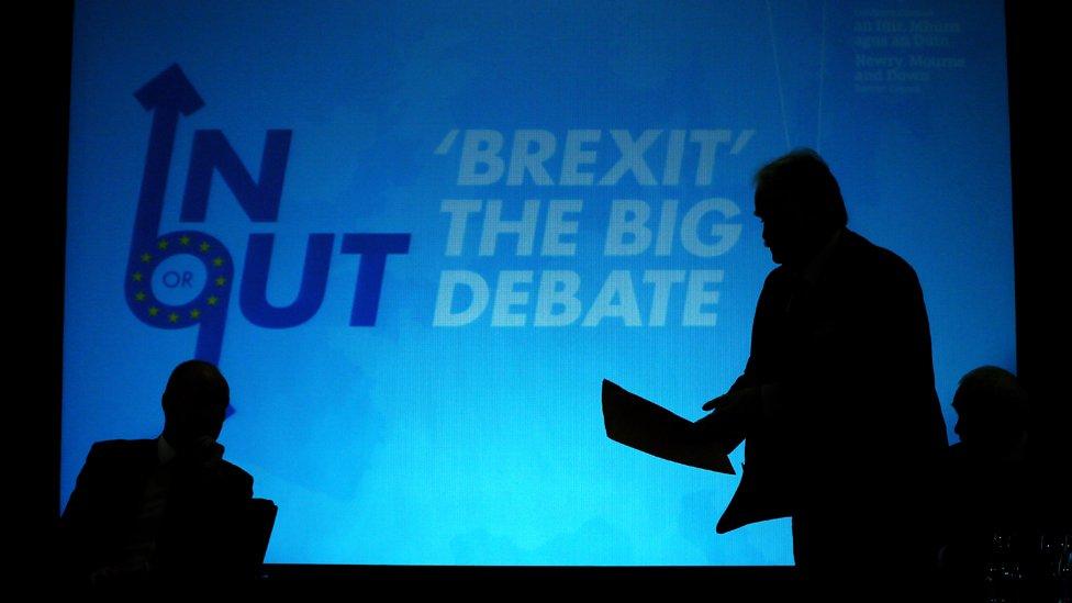 Brexit debate held in Newry last autumn