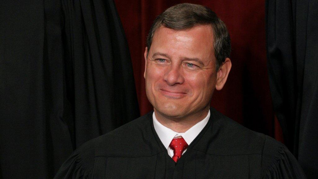 美國聯邦最高法院首席大法官羅伯茨。