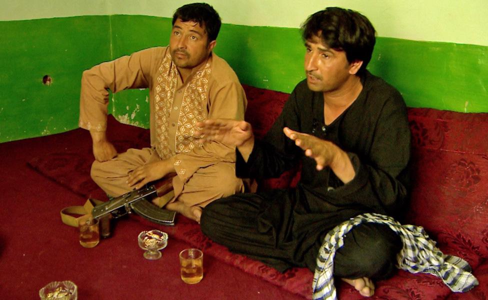 An opium farmer and a local policeman
