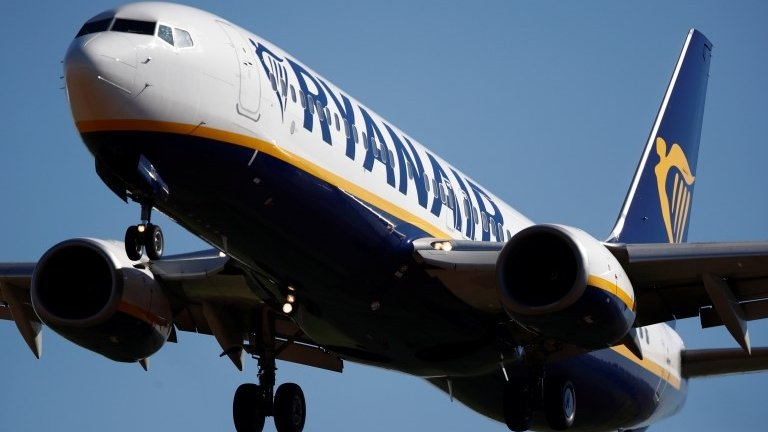 Ryanair profits hit by strikes and higher fuel costs